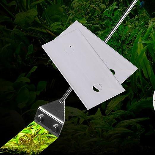 UEETEK - 10 cuchillas de afeitar para acuario, diseño de acero inoxidable que garantiza resistencia a la corrosión aptas para algas: Amazon.es: Productos ...