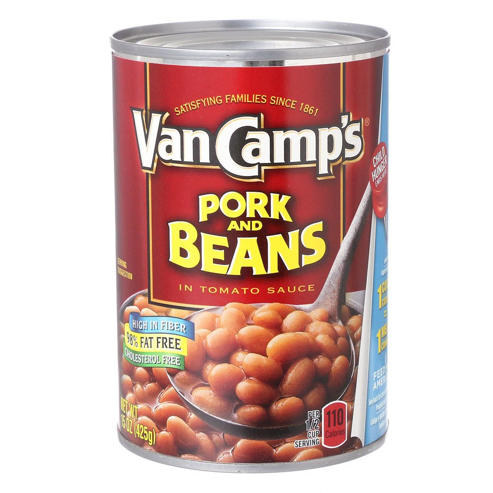 49ed739cd9cf04 Amazon.com     Van Camp s Pork And Beans In Tomato Sauce 15 oz   Baked Beans    Grocery   Gourmet Food