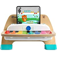 Baby Einstein, Hape Magic Touch Piano, juguete musical de madera, incluye 3 partituras y 6 canciones, a partir de 12…