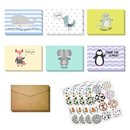 Amazon Magic Ants Cute Animal Thank You Card For Baby Shower