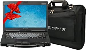 Panasonic Toughbook CF-53 Laptop PC Bundle with Laptop Bag, i5-2520M, 16GB, 1TB SSD, Win 10, Touchscreen (Renewed)