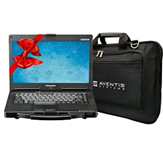 Panasonic Toughbook CF-53 Laptop PC Bundle with Laptop Bag, Intel i5-2520M, 16GB RAM, 1TB SSD, Windows 10 (Renewed)