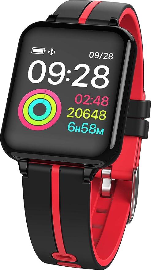 Smartwatch, Anding Reloj Inteligente Impermeable IP67 con ...
