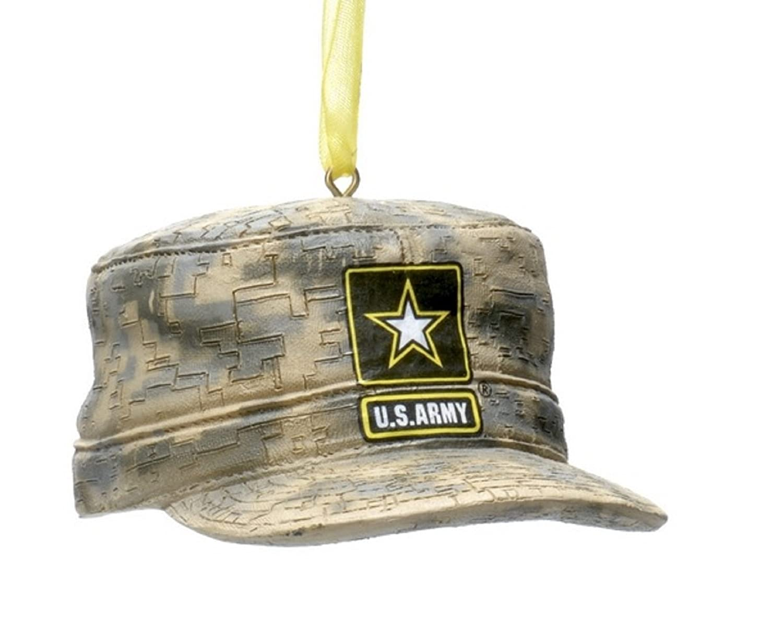 U.S. Army Combat Uniform Cap Christmas Ornament 3