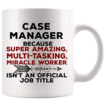 amazon com case manager mug coffee best ever cup amazing miracle