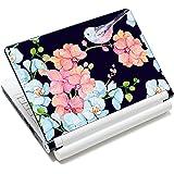 Bird & Nice Flower 12.1 13 13.3 14 15 15.4 15.6 Inches Personalized Laptop Skin Sticker Decal Universal Netbook Skin Sticker