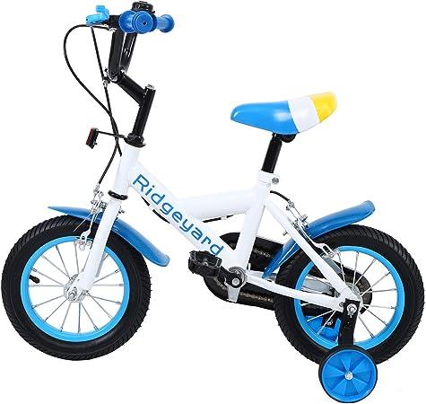 MuGuang 12 Pulgadas Bicicleta Infantil Estudio Aprendizaje ...