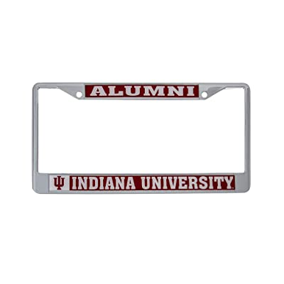 Desert Cactus Indiana University Hoosiers NCAA Metal License Plate Frame for Front Back of Car Officially Licensed (Alumni): Automotive