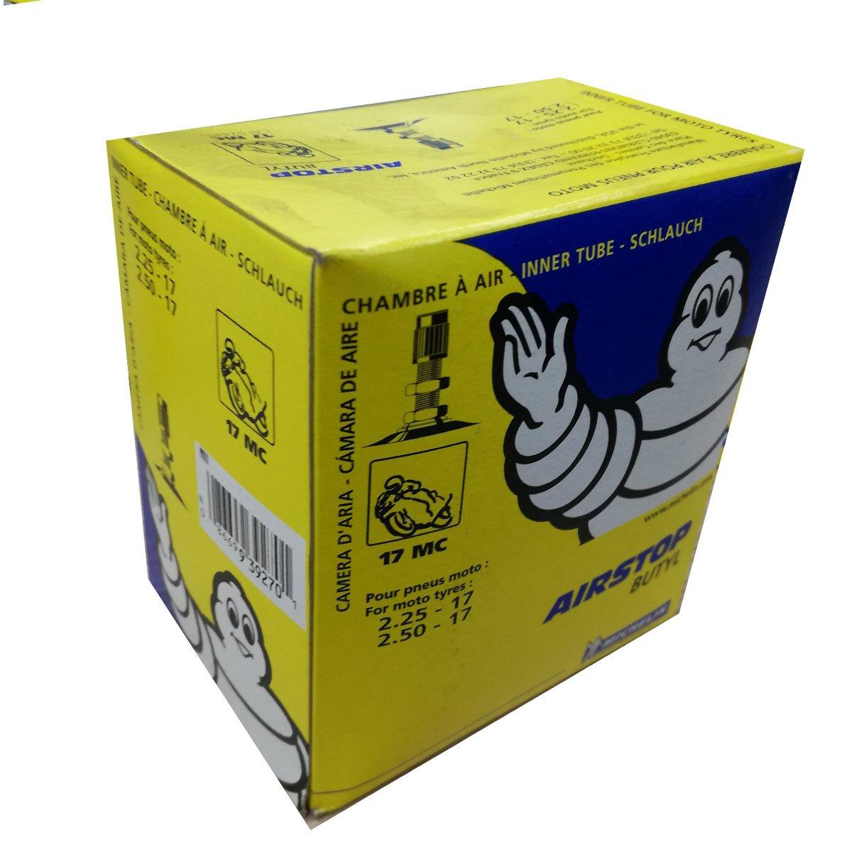 Camera aria moto Michelin 17 MC Valvola TR4 (2.25 –  17 Y 2.50 –  17) SACIM Distribution S17300