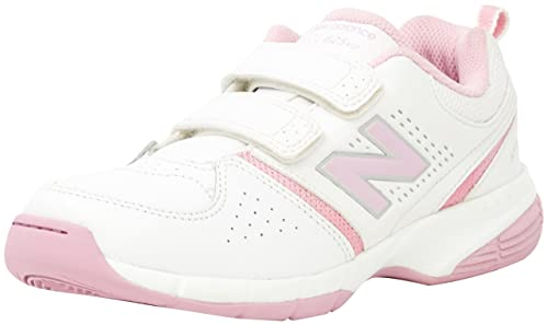 41c9aaf23161 New Balance Girls 625 White   Pink Sneakers EU 35  Amazon.com.au ...