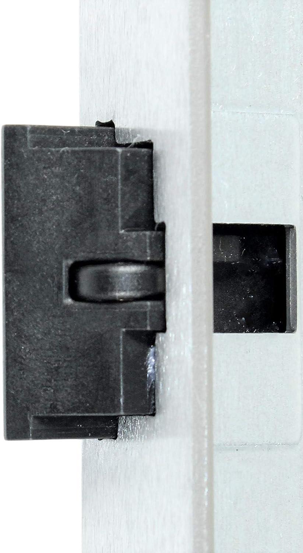 mit Fl/üsterfalle Kl.III BAD 65//78//8 mit Edelstahl Stulp 20 x 235mm abgerundet DIN Links incl SN-TEC/® Montageset BKS Badezimmer T/ürschloss mit Vierkant