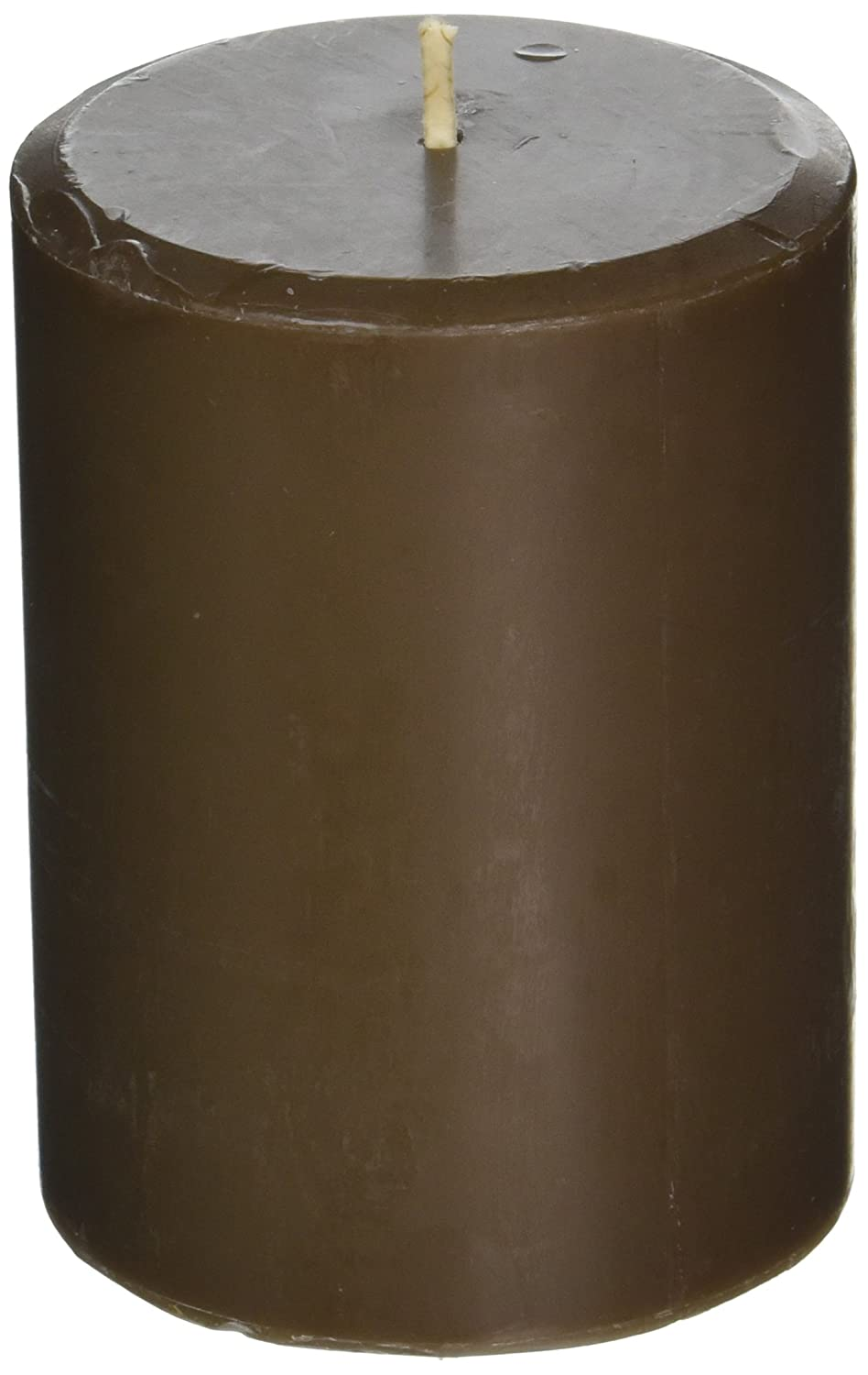Northern Lights Candles Sandalwood & Patchouli Fragrance Palette Pillar Candle, 3 x 4 3 x 4 31549