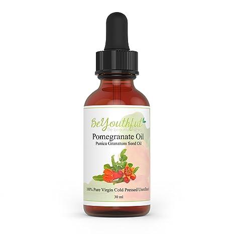 El aceite de semilla de granada Se Joven 100% presionado al frio aceite sin refinar