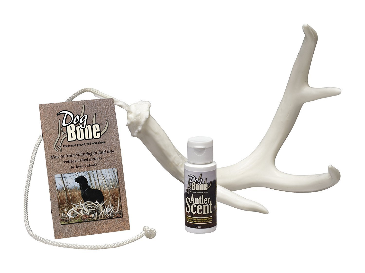 DogBone Shed Dog Training Antler Retrieving System