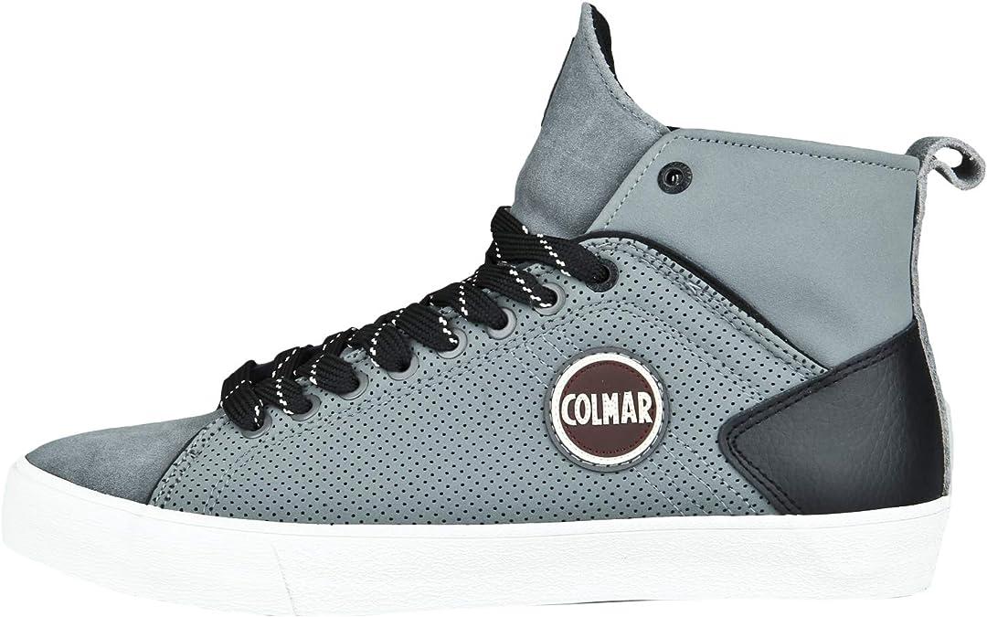 COLMAR Herren Hightop Sneaker Durden Drill Logo Applikation