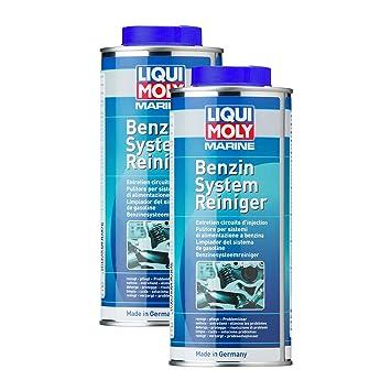2 x Liqui Moly 25010 Marino Sistema de gasolina de limpiador ...