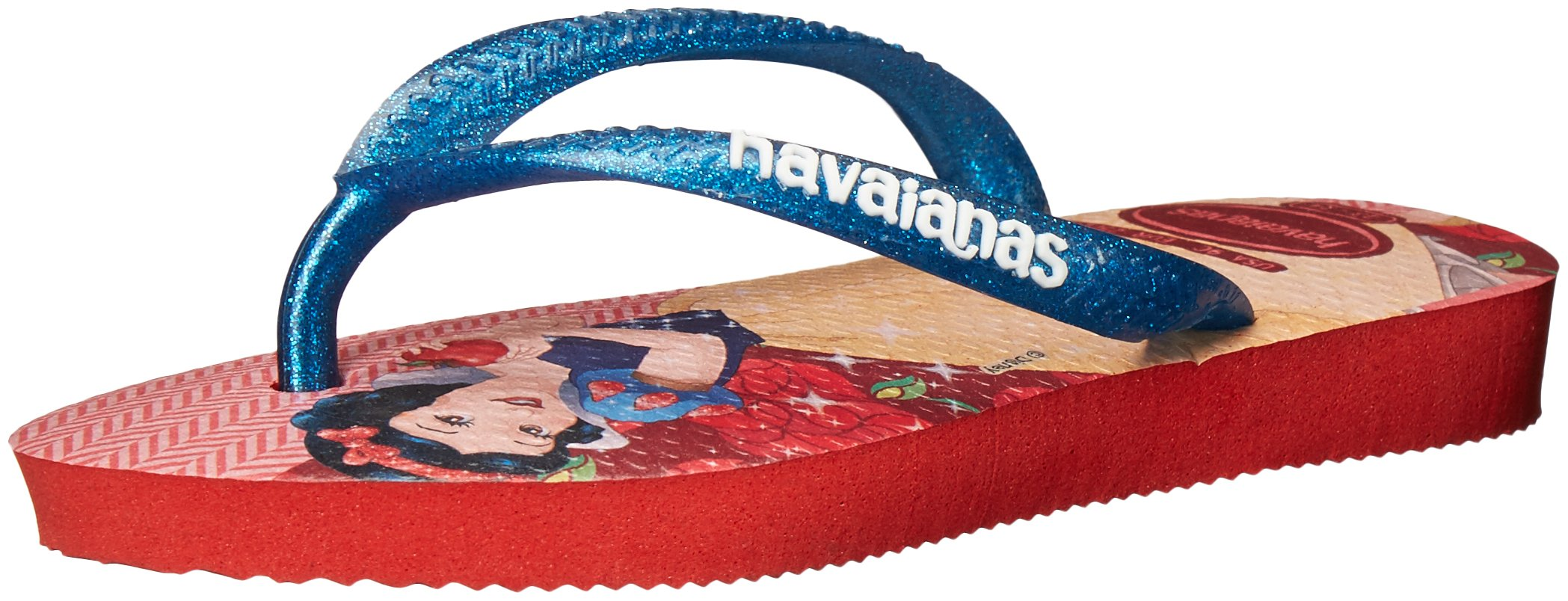 Havaianas Slim Flip Flop Sandals, Toddler/Child, Princess,Red,33/34 BR (3-4 M US Little Kid) by Havaianas (Image #1)