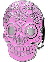 Buckle Rage Adult Unisex Mexican Katrina Dia De Muertos Skull Belt Buckle