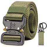 "Tactical Waist Riggers Battle Belts for Men & Women Quick Release 1000D Nylon Webbing 1.5"" Wide Military Police Training"