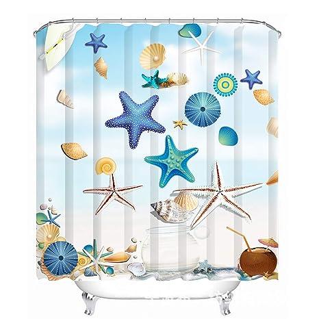 Amazon.com: Love Creative - Ganchos para cortina de ducha de ...