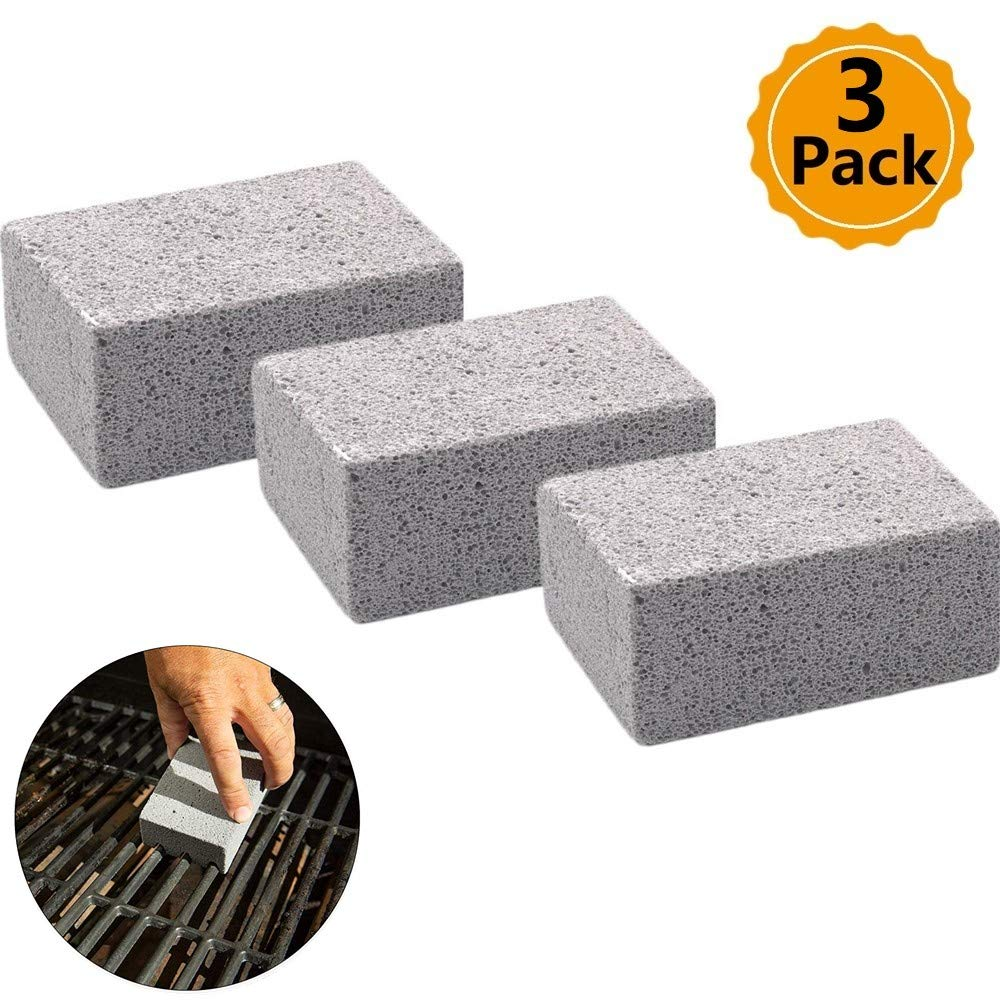 Amazon com : WJA 3 Pack Grill Griddle Cleaning Brick Block