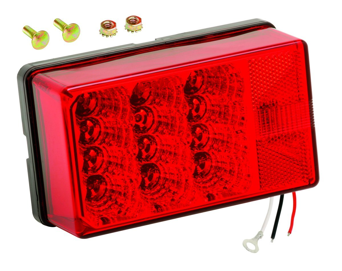 Best Rated In Boat Trailer Lights Helpful Customer Reviews Caravan Wiring Books Wesbar Waterproof Low Profile 7 Function Right Curbside 4x6 Led Tail Light Product Image