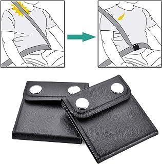 WENTS Seat Belt Adjuster - 2 Pack Universal Car Seat Belt Clip Positioner to Relax Shoulder Neck, Child Safety Holder, Comfortable Car Supplies