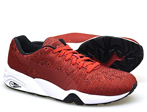 981c567e25a8 Puma Men s Trainers Red Red  Amazon.co.uk  Shoes   Bags