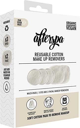 AfterSpa Beauty - Reusable Cotton Make Up Removers - My Spa at Home