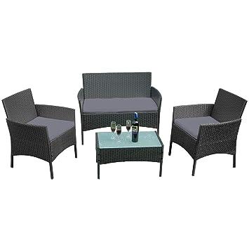 LARS360 Conjuntos de muebles de jardín Conjunto de Muebles ...