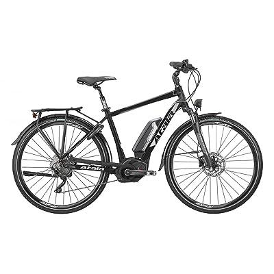 Vélo électrique atala B-Tour sLS PVW Man 10vitesses, Taille S (160–170cm), nero-opaco/anthracite, Kit électrique Bosch Performance 500WH