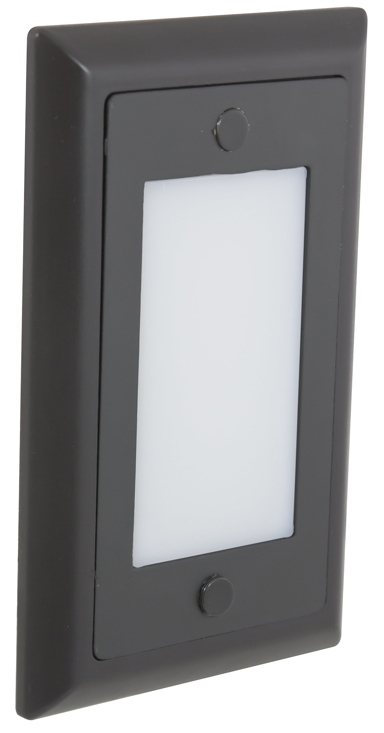 American Lighting SGL-SM-DB Smooth Faceplate for LED Step Light, Dark Bronze