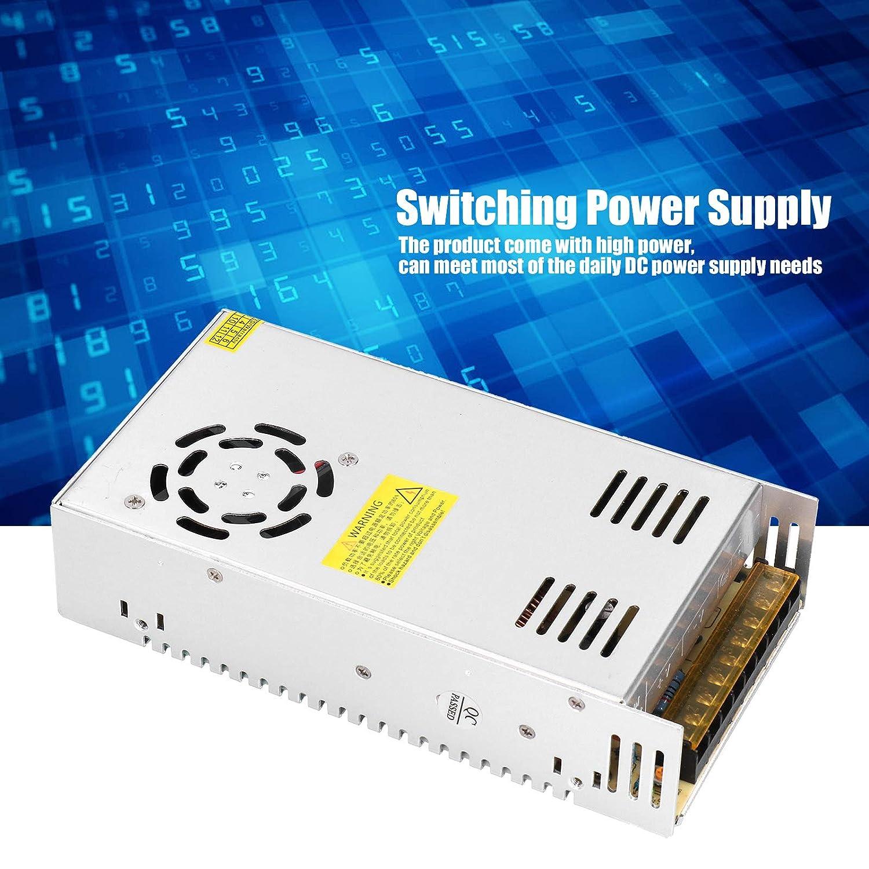 Alimentatore Switching 400W 36V 11A Ingresso AC115//230V per Motore Passo-passo Kit router CNC Acciaio Inossidabile