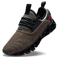 Wonesion Herren Fitness Laufschuhe Atmungsaktiv Rutschfeste Mode Sneaker Sportschuhe,
