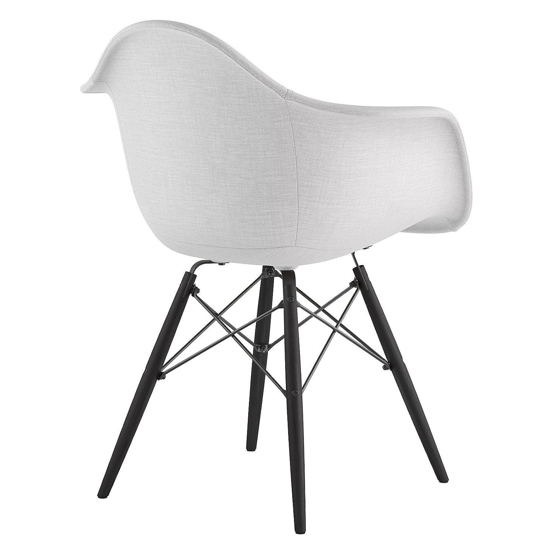 Plum Purple NyeKoncept 332005EW1 Mid Century Dowel Arm Chair