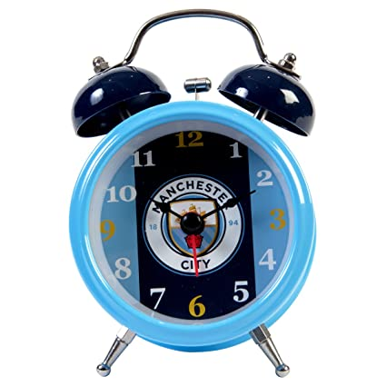 Manchester City F.C. Bell Alarm Clock BL