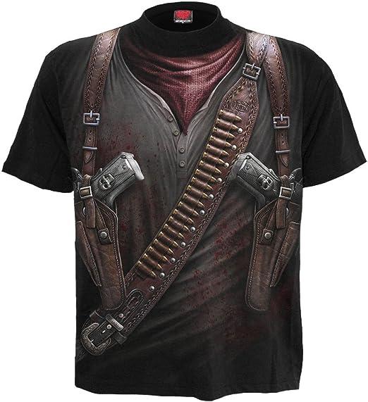 HOLSTER WRAP Allover Sleeveless T-Shirt Black