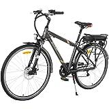 ONWAY 6 Speed 700C Man City Electric Bicycle