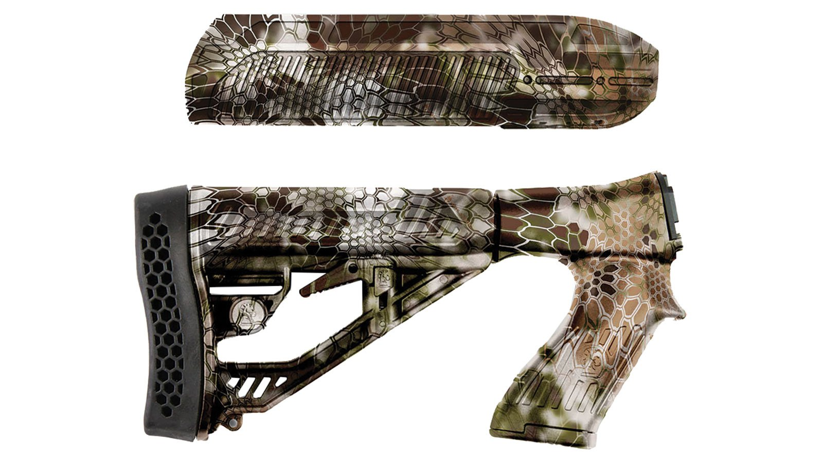 ADT 1038546 EX Stock Esteem 87012Gkr Yet Airsoft Gun Rails