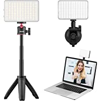 Light for Video Conferencing - VIJIM Video Conference Lighting Kit with Adjustable Stand Tripod and Strong Suction Clip…