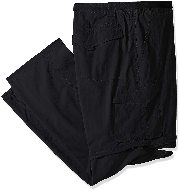 Columbia Sportswear Men's Big and Tall Silver Ridge Congreenible Pant, Black, 48 x 32Inch