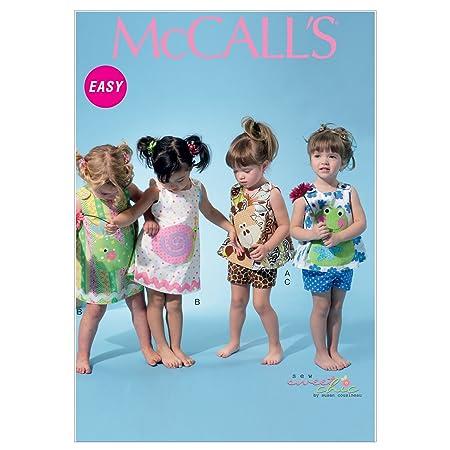 McCalls M6541 YA5 - Patrones de costura para ropa infantil ...
