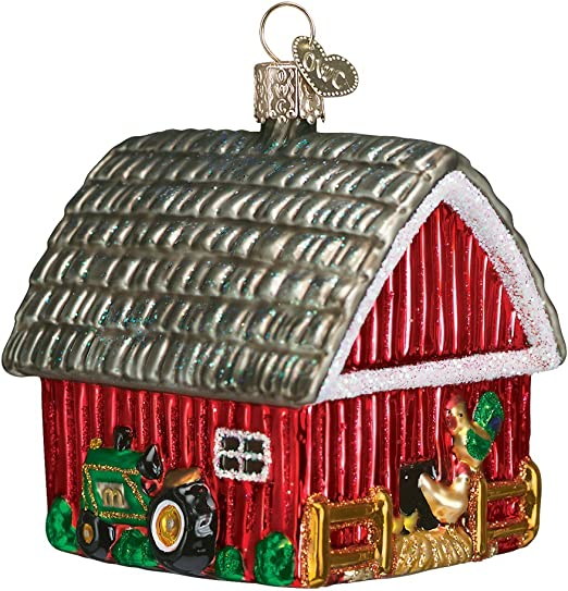 Old World Christmas 16115 Ornament Spring Chicken