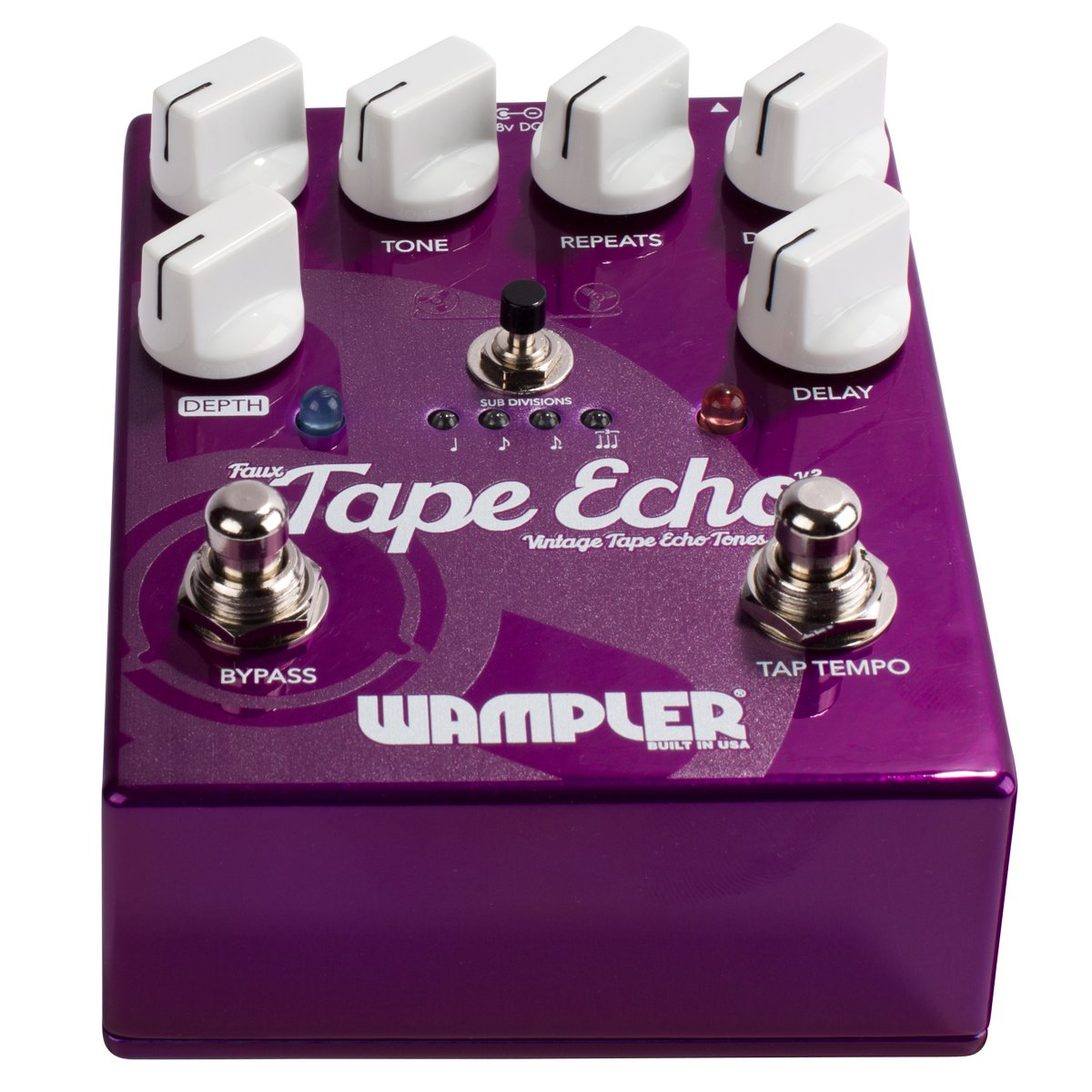 Wampler Faux Tape Echo V2 Delay Effects Pedal