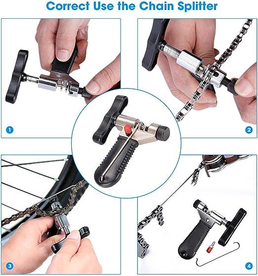 Fahrradreparaturwerkzeuge Motorrad Fahrrad Kettentrenner Cutter Remover Tool DJ