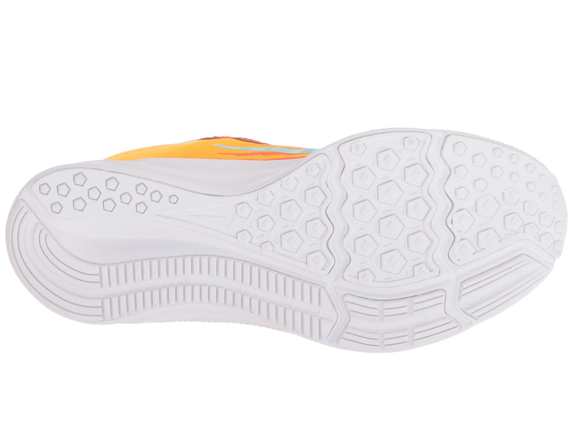 Nike Kids' Preschool Downshifter 8 Fade Running Shoes (1.5, Red/Green) by Nike (Image #4)