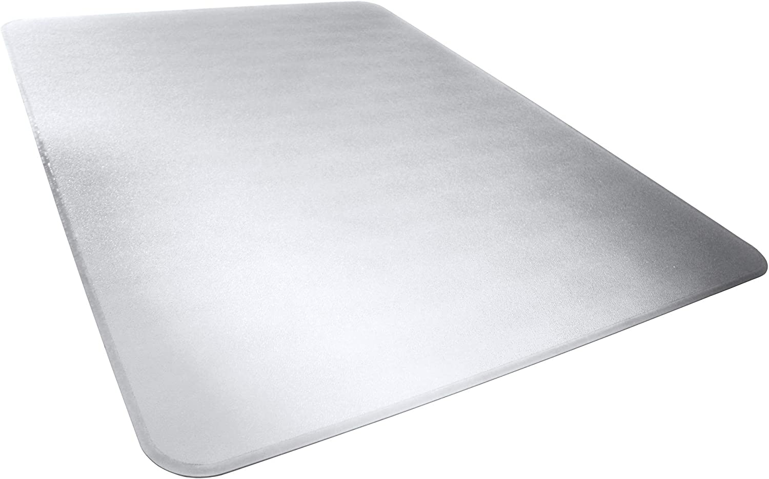 AmazonBasics Polycarbonate Heavy Duty Chair Mat for Carpets Hard Floors – 46 x 60