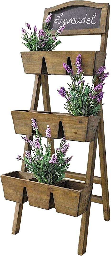 Garden Outdoors Plant Containers Accessories Home Garden Store Plant Containers Accessories Direct Global Trading Decorative Wooden Flower Stand With Chalkboard Kubicolab It