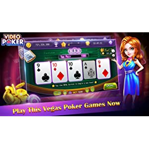 Video Poker:HD Poker Games Free Offline For Kindle Fire.Best Jacks Or Better Video Poker,Cool Deuces Wild Casino Video Poker free Games!: Amazon.es: Appstore para Android
