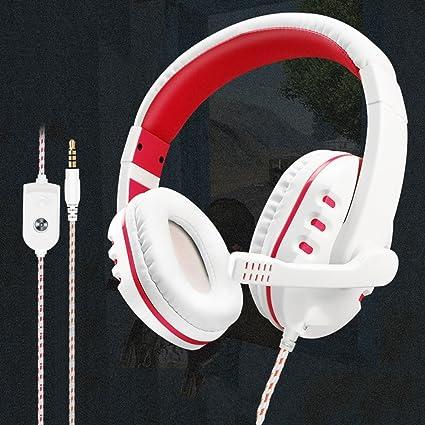 XP-headphone Ordenador teléfono Móvil Auricular Universal con Cable de Escritorio Portátil Karaoke Auriculares Auriculares